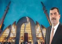 """Türkmen: """"DİTİB Merkez Camii Köln'e aittir, şehrin silüetinde yerini almış mimari şaheserdir"""""""