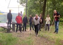 Werdohl'da pandemiye karşı doğa yürüyüşü