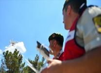 Yasa dışı geçişlere dronelu önlem