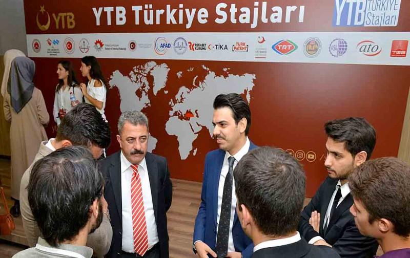 Yurt dışındaki gençlere Türkiye'de staj imkânı…
