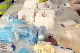 YTB aracılığıyla Almanya'da maske dağıtılıyor